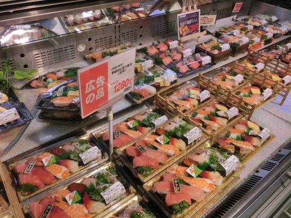 寿司品揃え