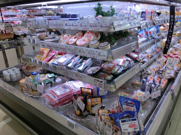 チーズ売場