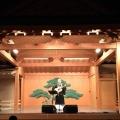 能舞台でライブ