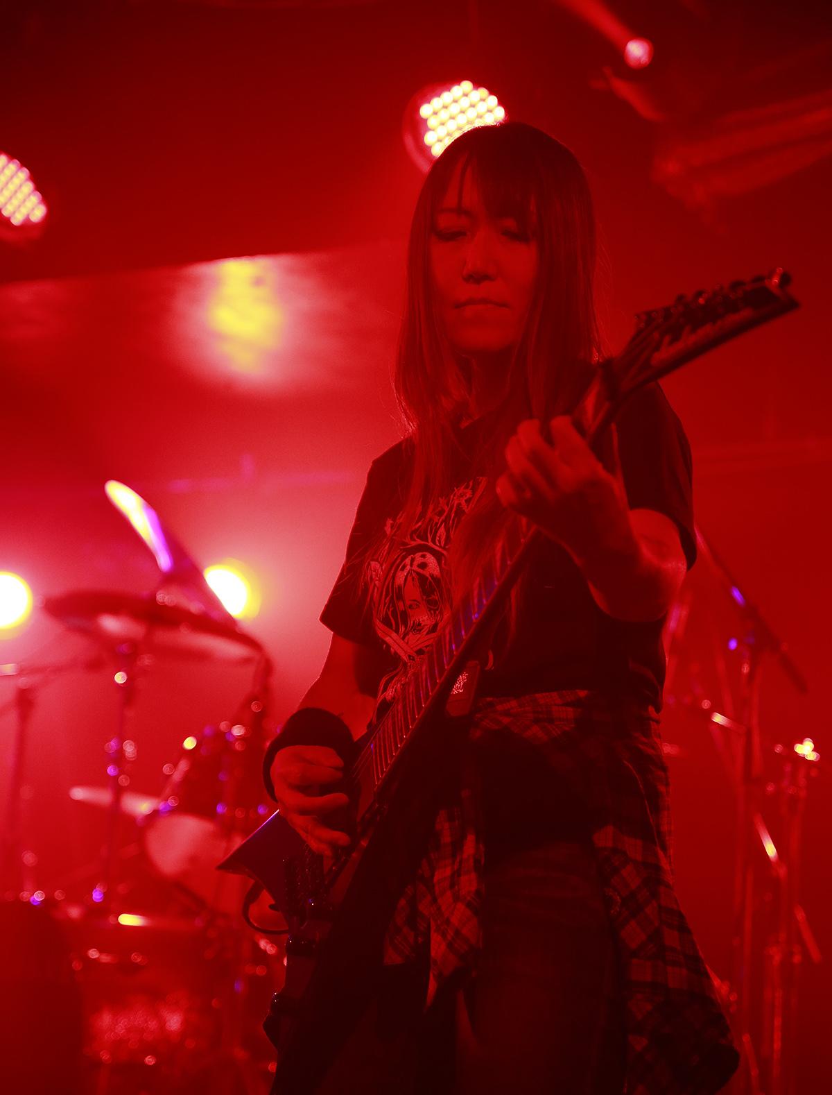 VALKYRIE(ヴァルキューレ)ギターみほちゃん_20180602SHOVEL-2