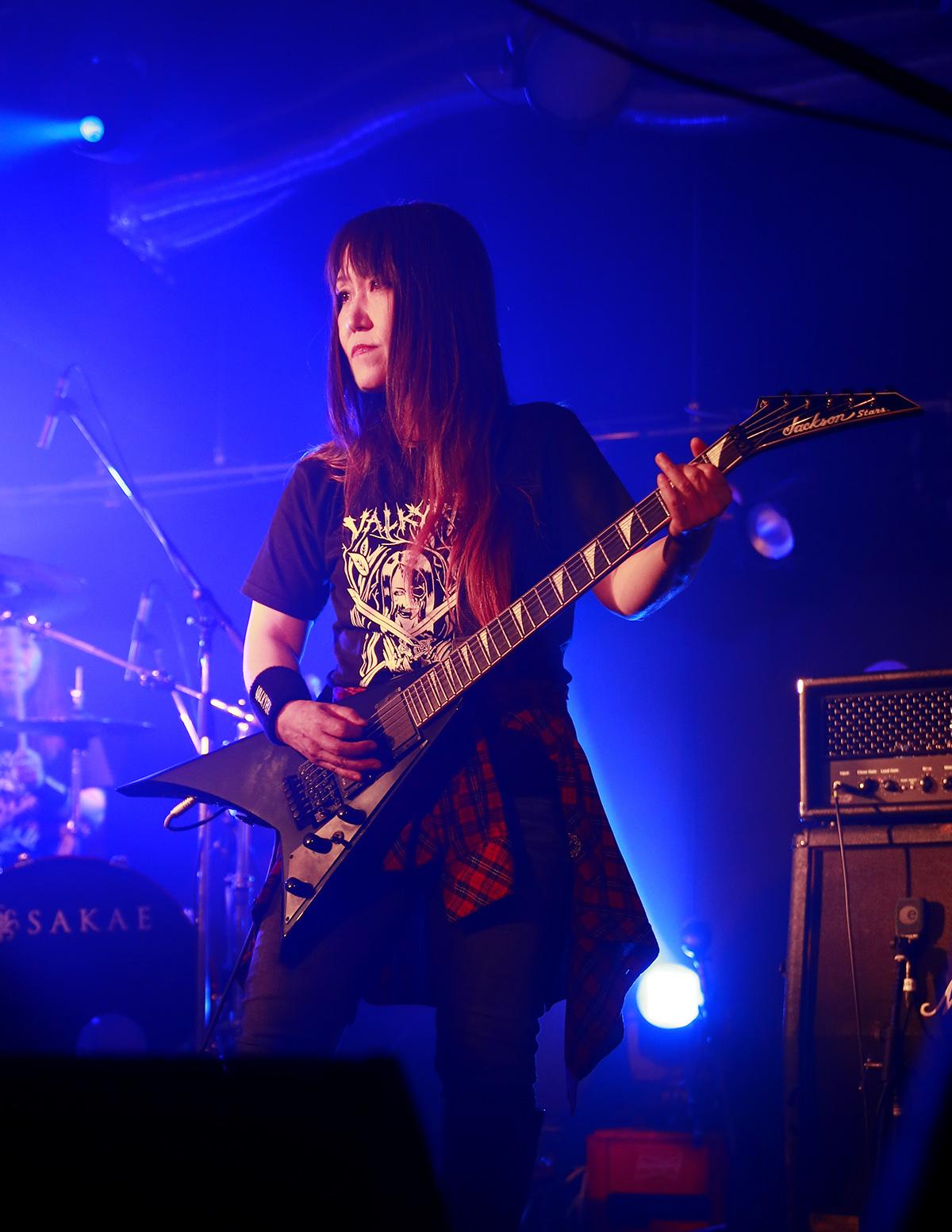 VALKYRIE(ヴァルキューレ)ギターみほちゃん_20180602SHOVEL-3