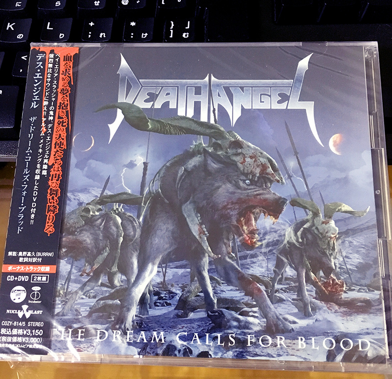 Death Angel-Dream calls for blood