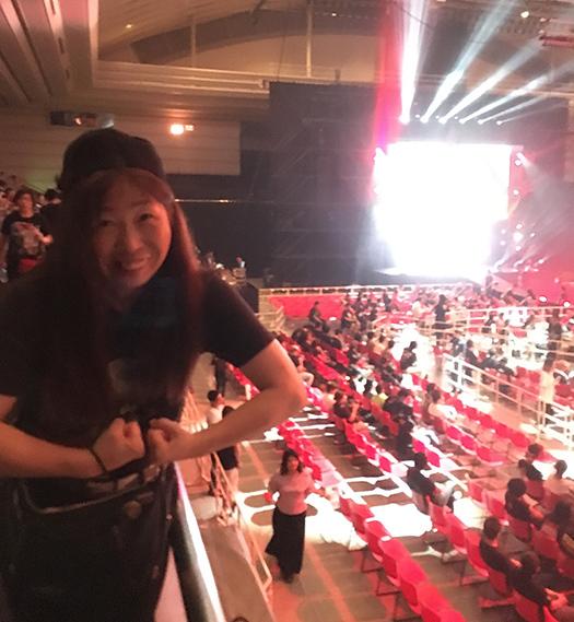 WWE大阪2018_エディオンアリーナ_withしゅうちゃん (2)