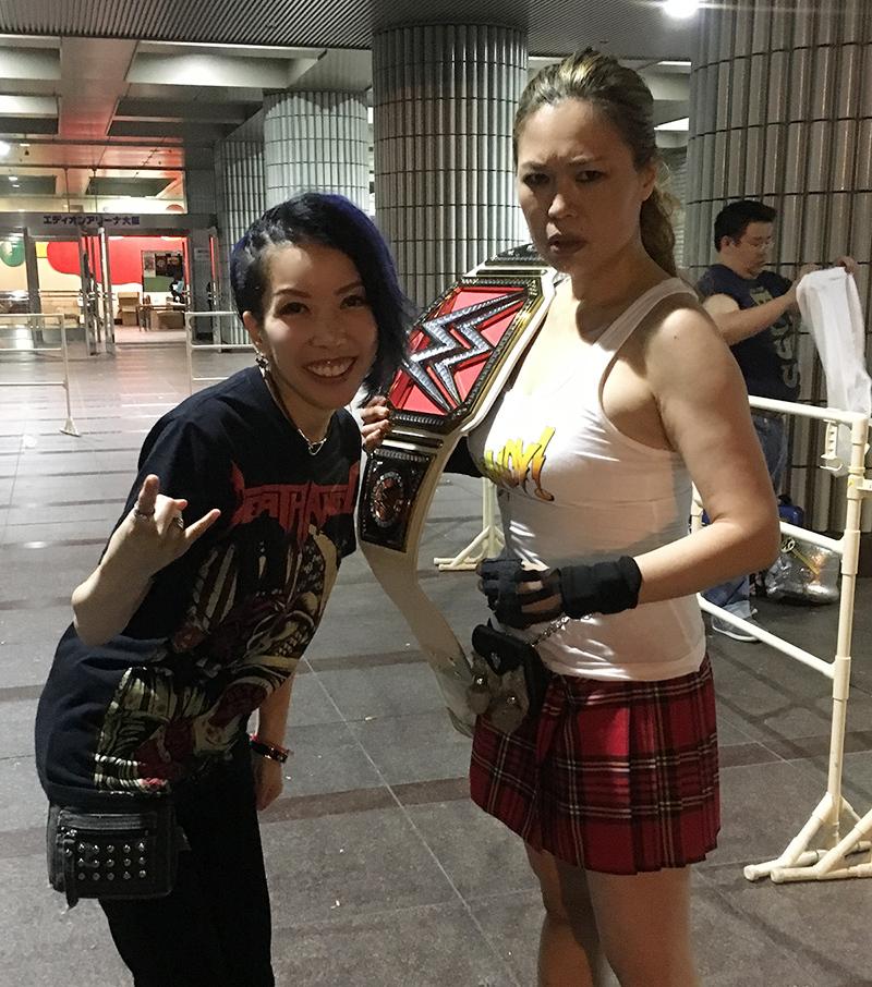 WWE大阪2018_エディオンアリーナ_withしゅうちゃん (5)