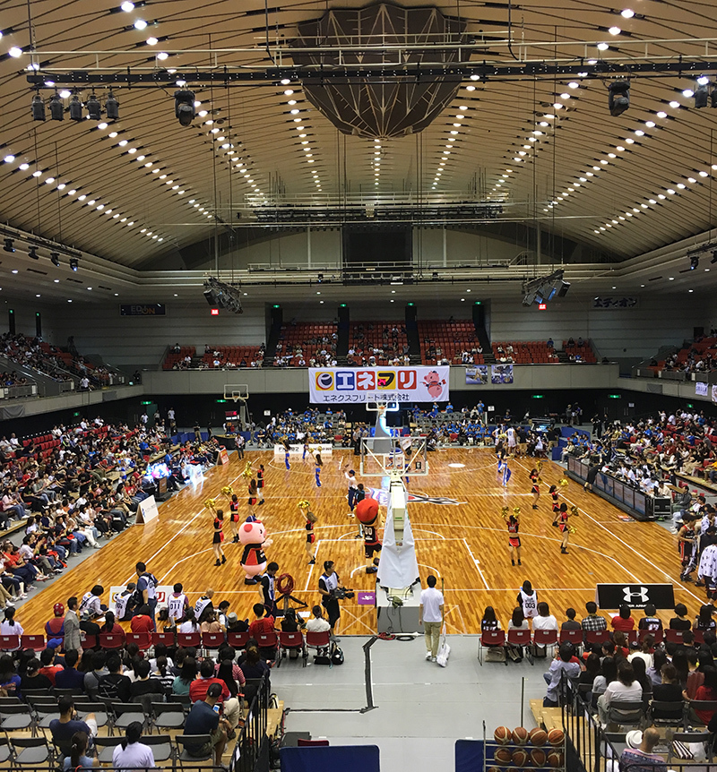 大阪エヴェッサ_関西アーリーカップ2018-19_エディオンアリーナ(府立体育館) (1)