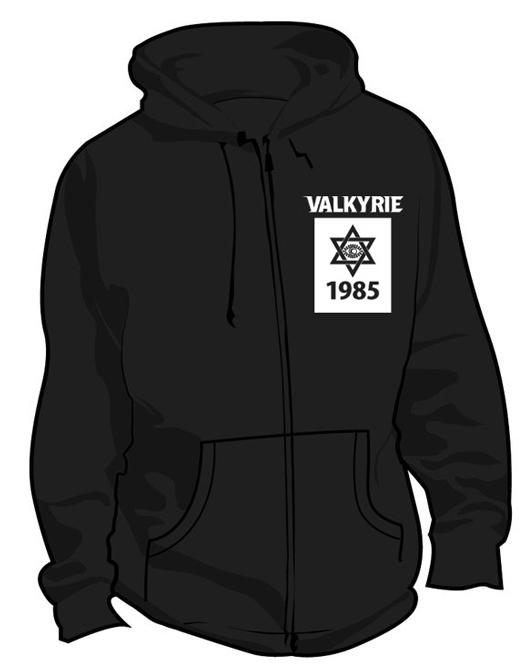 VALKYRIEパーカー(ヴァルキューレパーカー)表デザイン