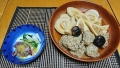 竹の子と鶏団子の煮物 ホタルイカ 20180429