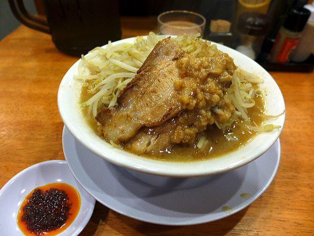 黒木製麺 雄@03男の修行中太麺 1