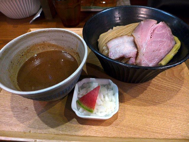 いかれたNOODLE Fishtons@01濃厚つけ麺 1