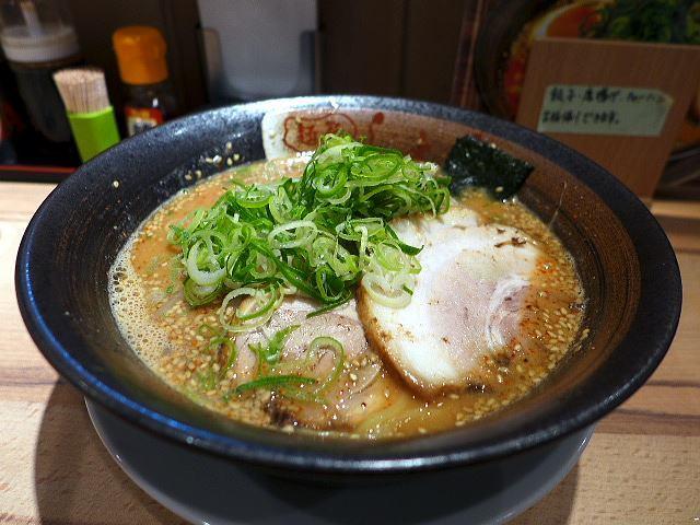 麺屋 しょう 針中野店@01ごま味噌ラーメン 1
