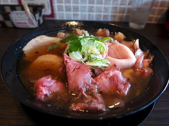 肉麺 ひだまり庵@01肉そば(和風しょうゆ)並 1