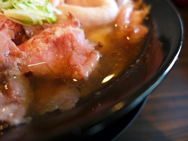 肉麺 ひだまり庵@01肉そば(和風しょうゆ)並 2
