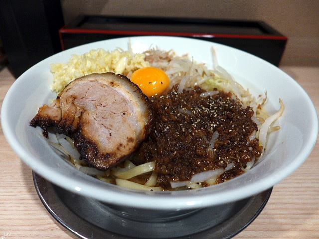 麺屋ガテン 松屋町筋店@01MAZEそば(中) 1