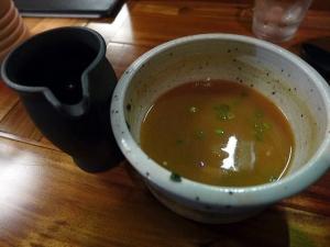 麺と酒 一帆@06鶏煮干のつけ麺 4