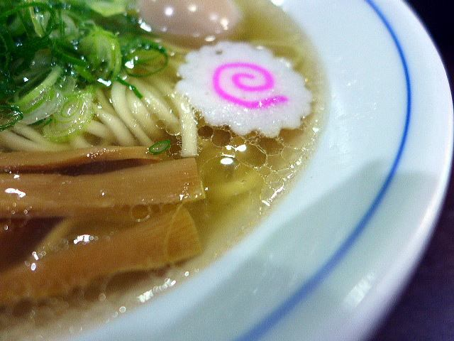 麺や 清流@06あっさりしお 2
