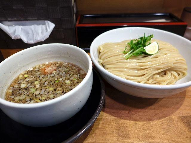清麺屋@01鶏もつつけ麺 1