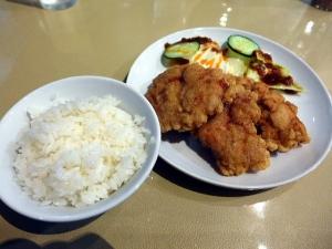 ひさみラーメン@03鶏の唐揚定食 4
