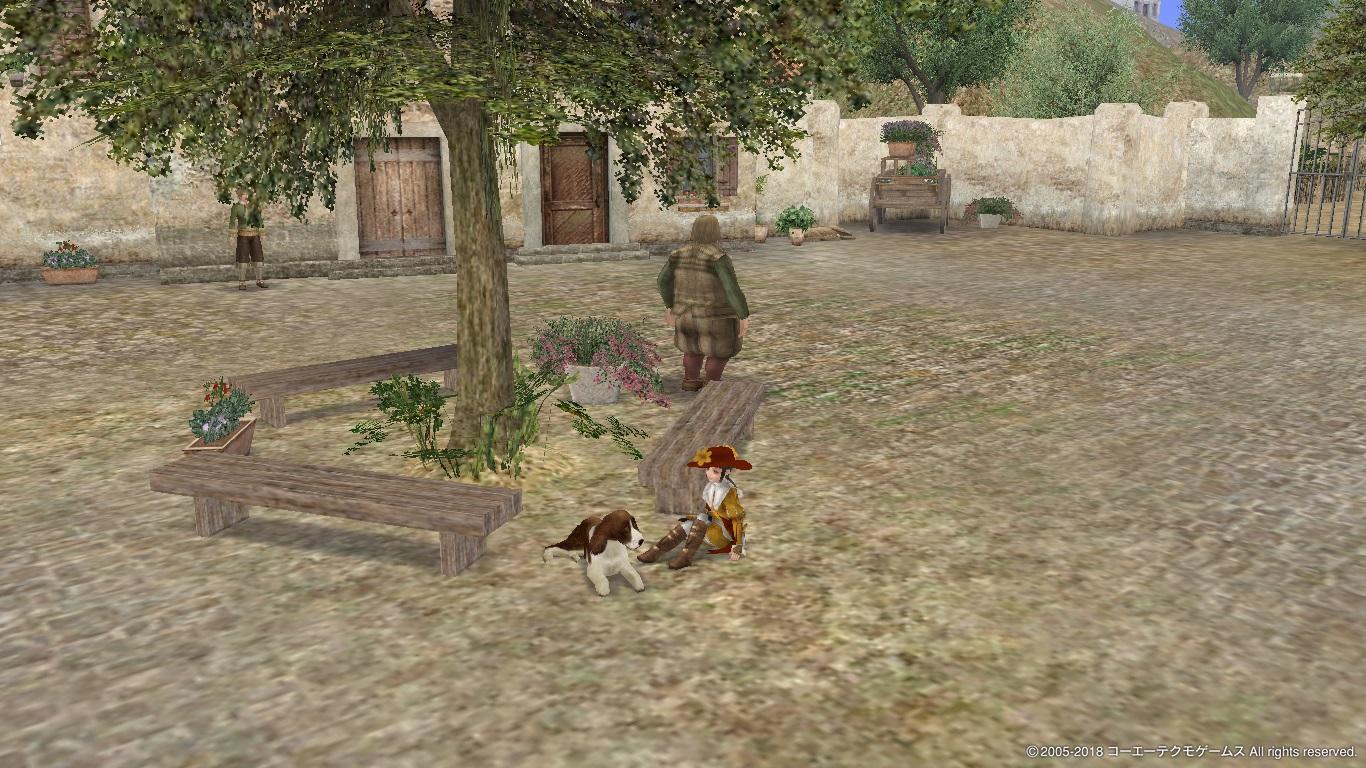 ユッカーニャと犬