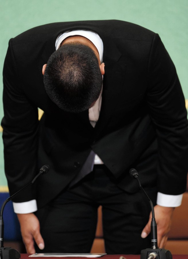 【競技人生ピリオド】日大アメフト反則タックルの選手「今後、フットボールを続けていく権利も意志もない」の画像2-1