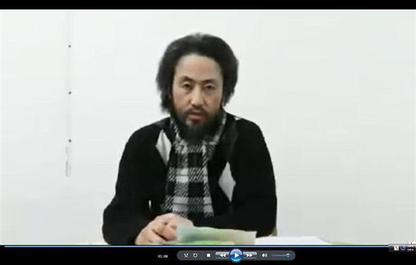 武装組織に拘束されたウマル安田純平さん