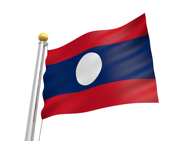 ラオス国旗