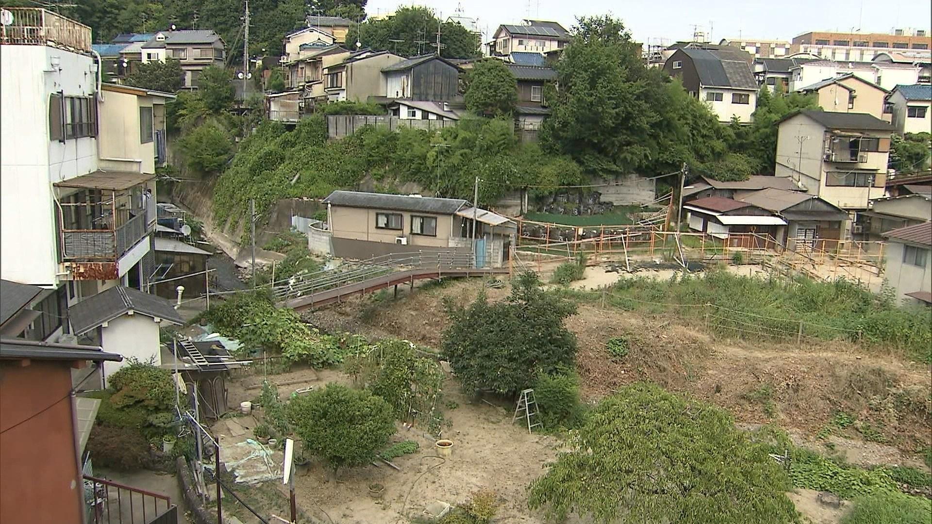 【京都市北区の集落】国有地を不法占拠!危険な砂防ダムの住人たち!の画像3-1