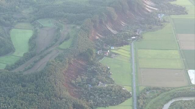 北海道地震の震度