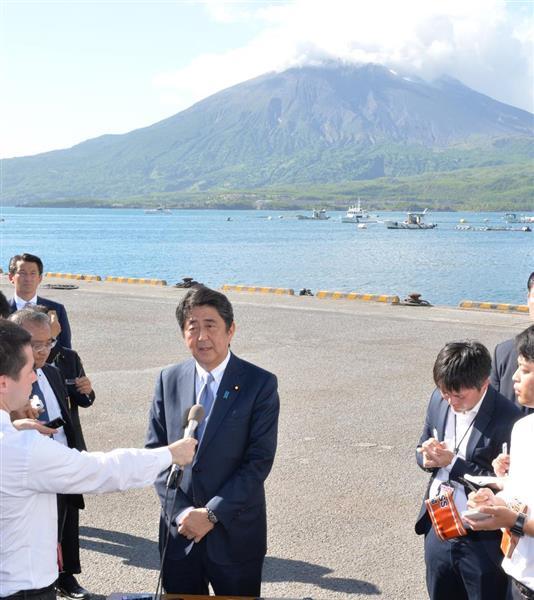 【自民党総裁選】安倍晋三首相が正式出馬表明「あと3年、日本のかじ取り担う決意」の画像