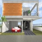 注文住宅 京都市 滋賀 RC造 鉄筋コンクリート 打ちっぱなしの家 ガレージハウス 中庭 吹抜け テラス
