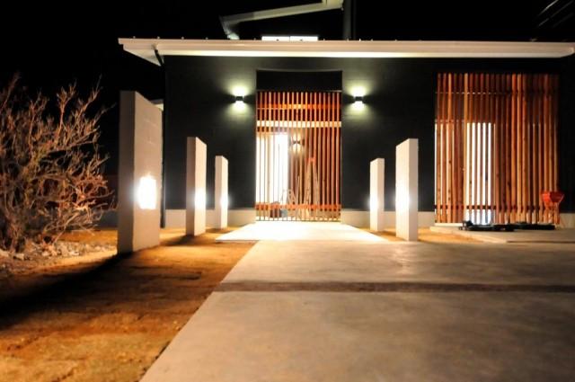滋賀県米原市の和風モダン注文住宅,和モダン,デザイナーズ住宅,モダン住宅