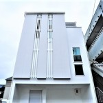 京都府京都市右京区・木造3階建 耐震等級2のデザイン住宅