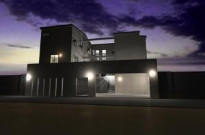 注文住宅 滋賀県 大津市 一級建築士事務所 二世帯 デザイナーズ住宅
