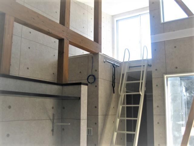 滋賀県 大津市 おしゃれ かっこいい 注文住宅 ロフト ペントハウス ルーフバルコニー