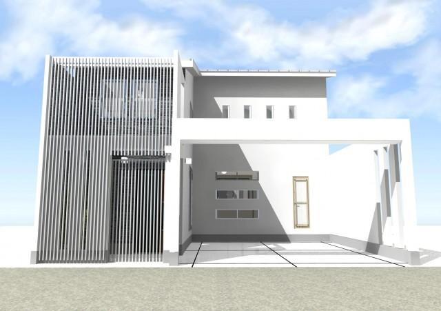 京都市 北区 上賀茂 一級建築士事務所 螺旋階段 モダン デザイン 注文住宅 デザイナーズ住宅