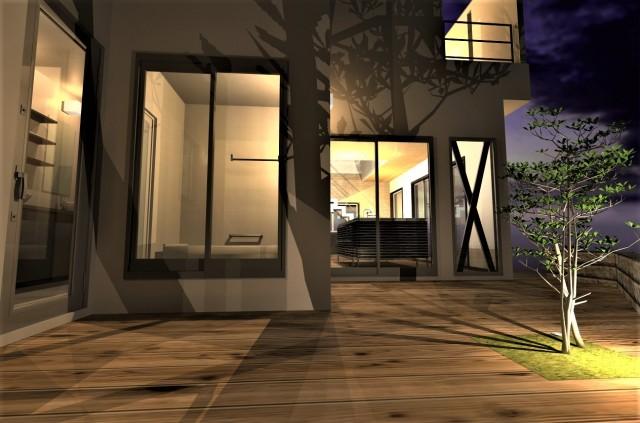 京都市 西京区 古民家改修 建替え  リノベーション  間取りを大幅に変更 建物外観 補強 フルリフォーム 古い家が全く別の家