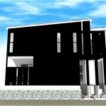 注文住宅 モダン住宅 滋賀県 大津市 湖城が丘 一級建築士事務所 工務店のモダンなデザイナーズ住宅