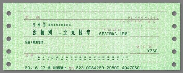 19850630_興浜北線きっぷ