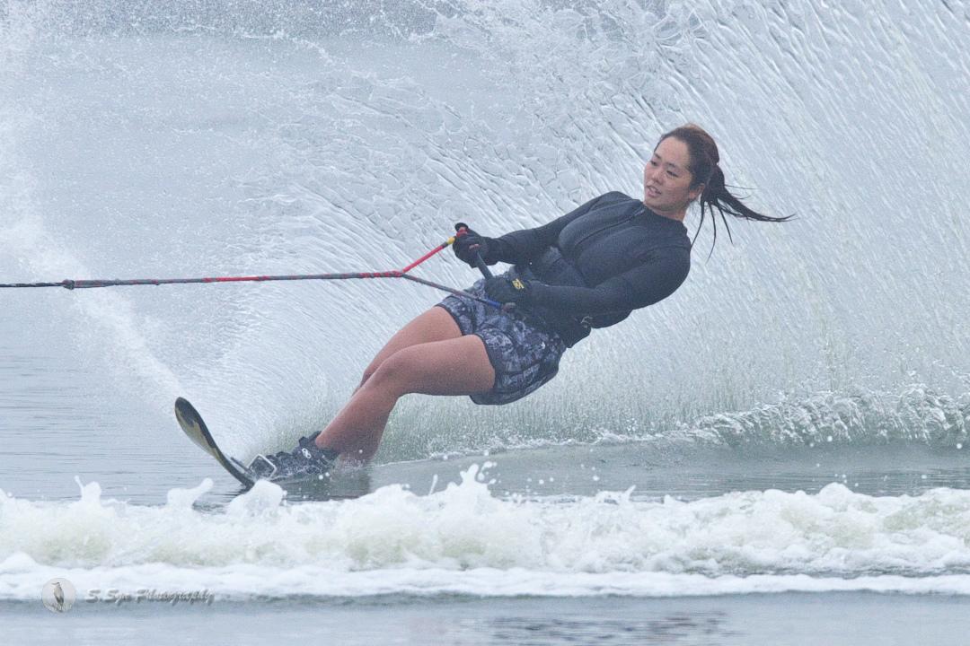 大野恵美選手(國3) 2018CS2 W's Slalom