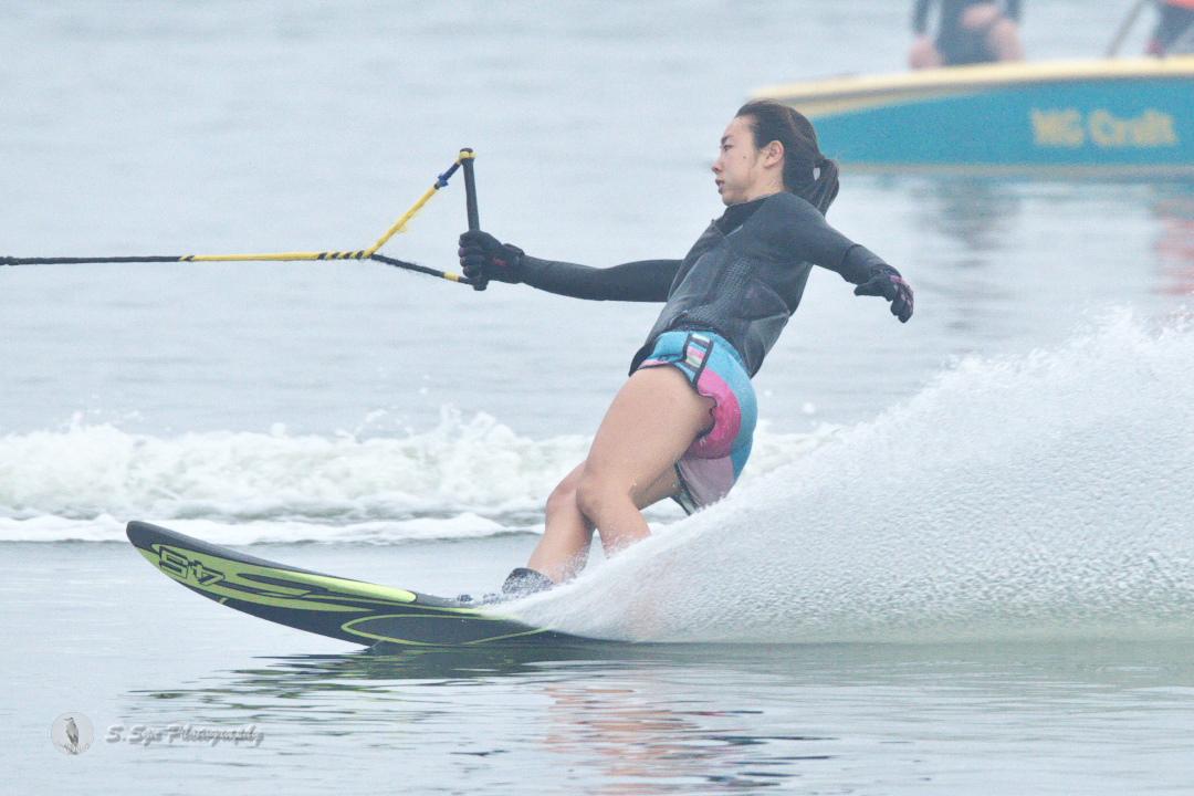 石川莉紗子選手(慶3) 2018CS2 W's Slalom 優勝