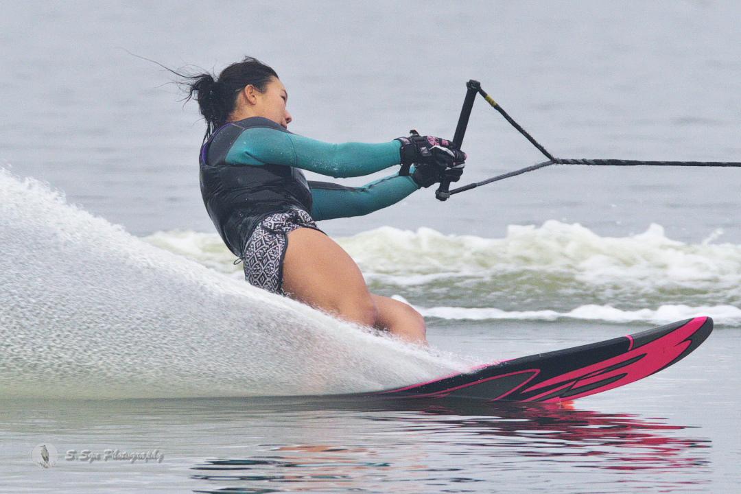 渡邊真緒選手(學4) 2018CS2 W's Slalom