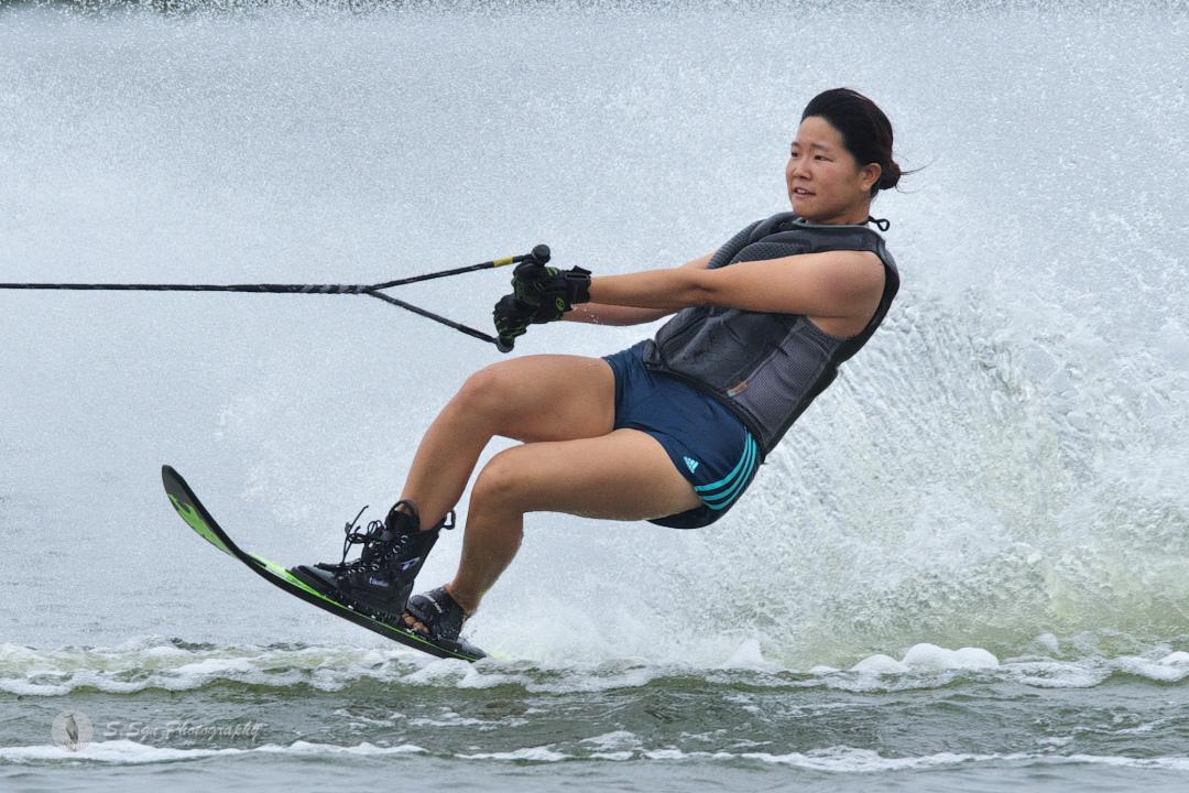 青木志帆選手(學3) 2018CS2 W's Slalom