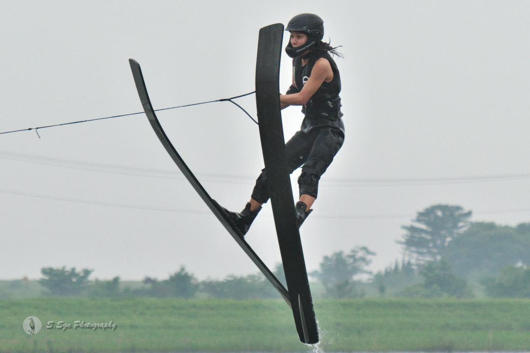中原莉乃選手(立4) 2018CS2 W's Jump