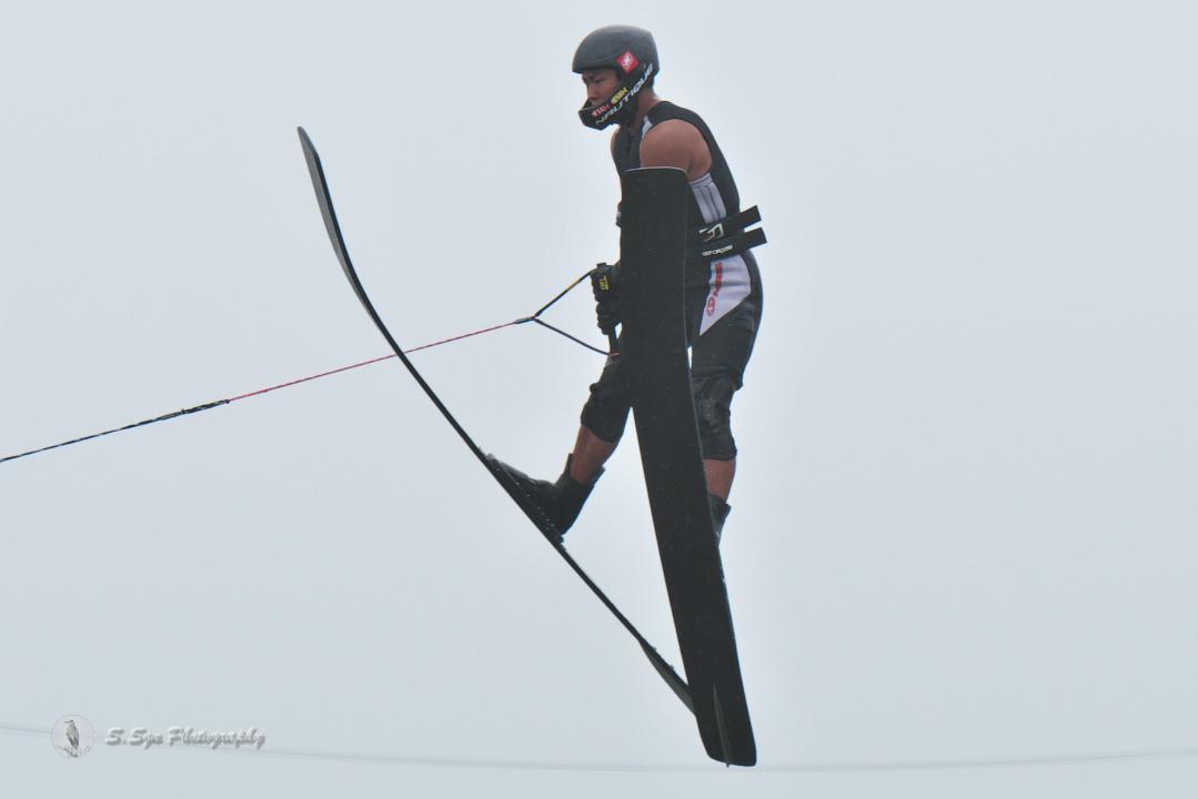 中川礼二郎選手(慶4) 2018CS2 M's Jump 2位