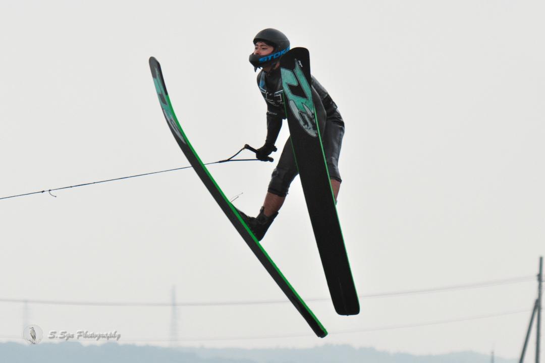 藤井藍練選手(立3) 2018CS2 M's Jump 3位