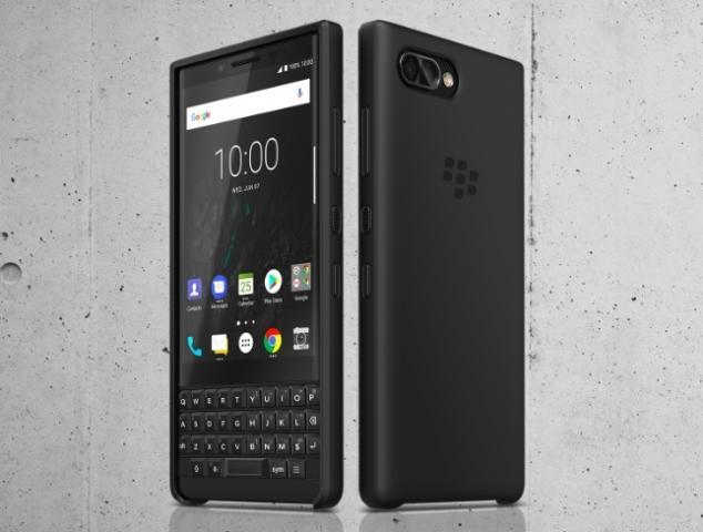 【ブラックベリーアンドロイド】au、「BlackBerry KEY2 Black」を9月7日に発売へ--52のキーボタン搭載