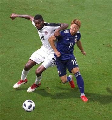 【サッカー】日本代表がコスタリカに3-0で勝利! 国際親善試合