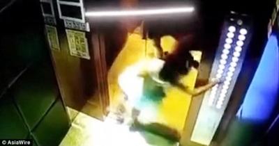 【苦笑】ヒモを使ってエレベーターで遊んでいた?少女が危険なことに!