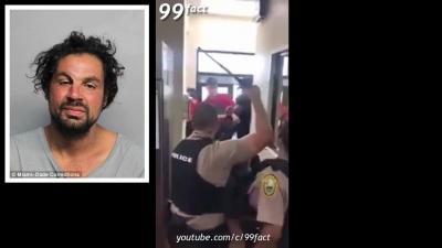 【苦笑】女性警官だけで対応?テーザー銃ぜんぜん効かないじゃん!