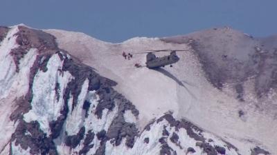 【神ワザ!】雪山ヘリ救助で神ワザ!