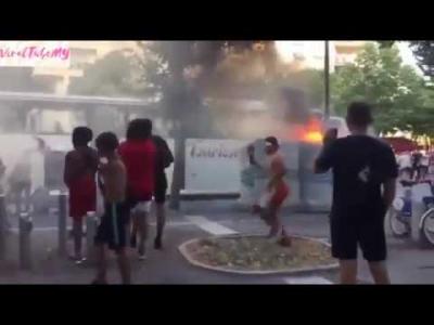 【苦笑】ロシアW杯で優勝したフランス・・・国内で暴動!何で?